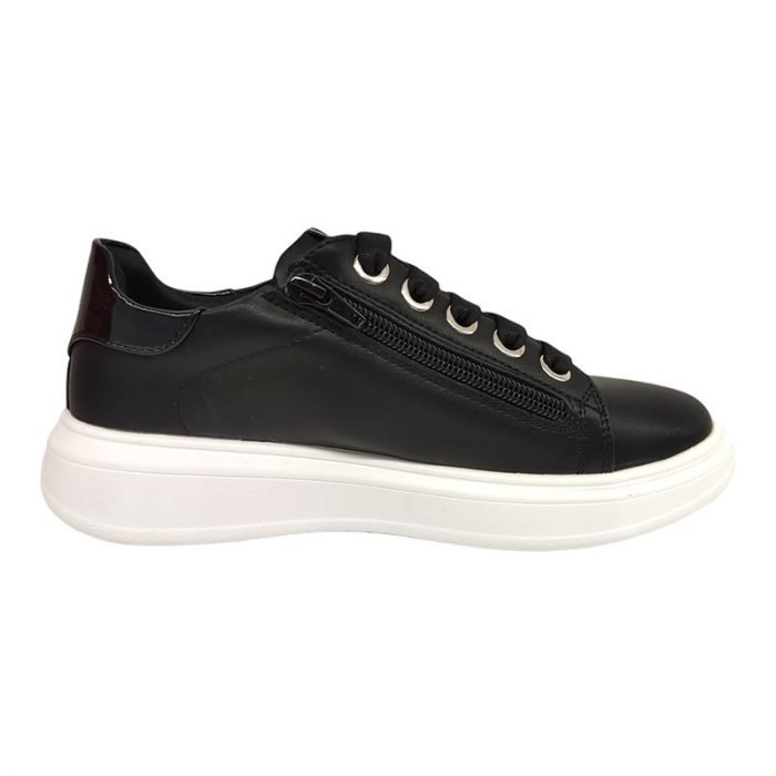 Asso sneakers nere 03