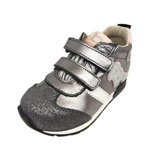 Balducci sneakers acciaio fronte