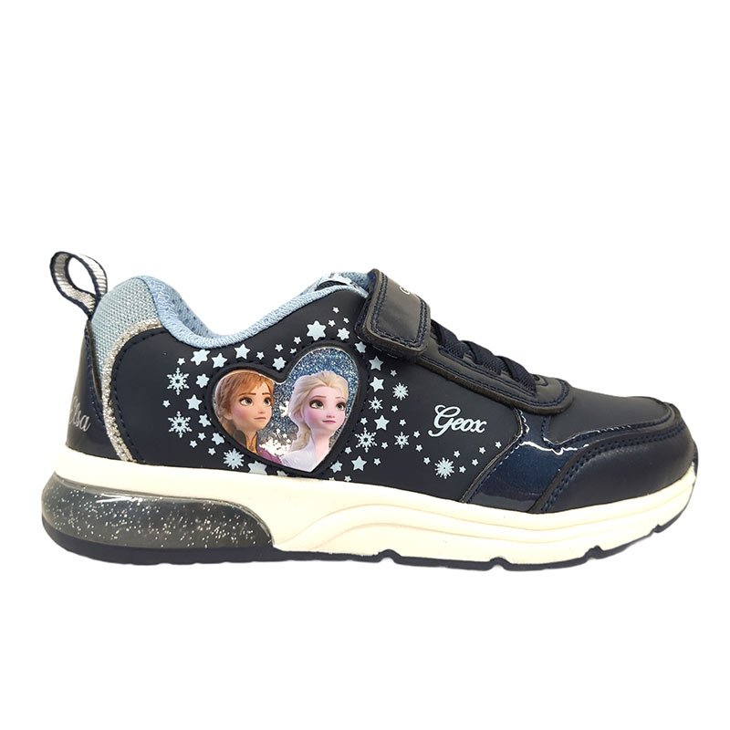 Geox scarpa con luci Frozen destra
