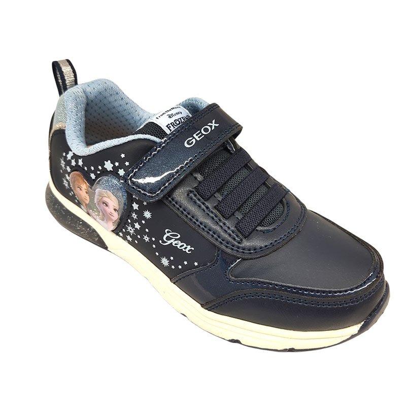 Geox scarpa con luci Frozen fronte
