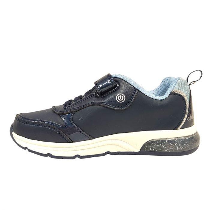 Geox scarpa con luci Frozen sinistra