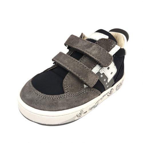 Balducci sneakers blu grigia fronte